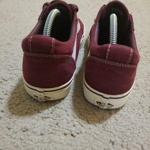 Vans Shoes - Burgundy Van's Old Skool